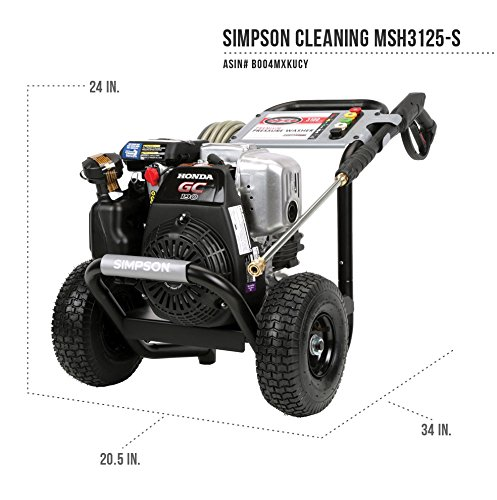 Simpson Megashot MSH3125-S Review