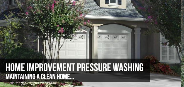 home improvement pressure washing